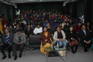 Expert Lecture at Manav Rachna University