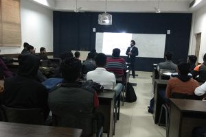 """Guest lecture on """"GST software TrackMyInvoices"""""""