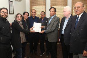 International Alumnus From Iran visited MRIIRS Campus