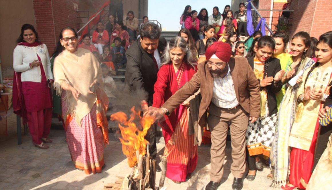 MRU Celebrated Lohri With Great Enthusiasm