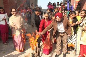 MRU celebrated Lohri with Great Enthusiasm