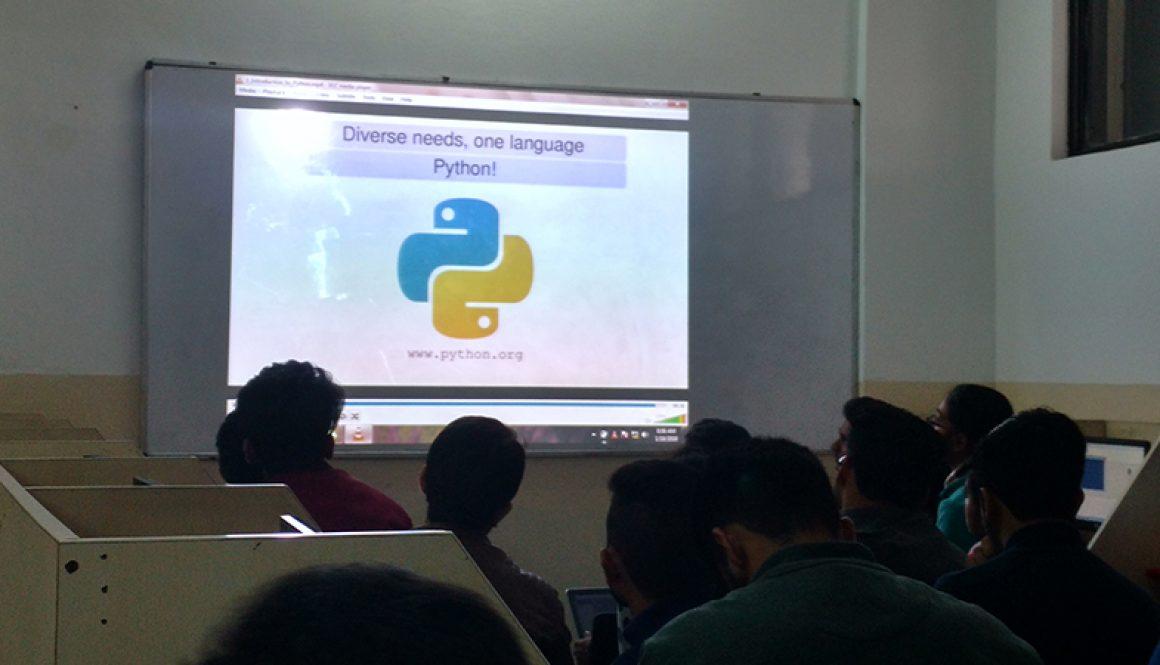 Three Day Workshop On Basics of Python