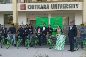 Mobycy Launches Its Services in Chandigarh, Partners with Chitkara University