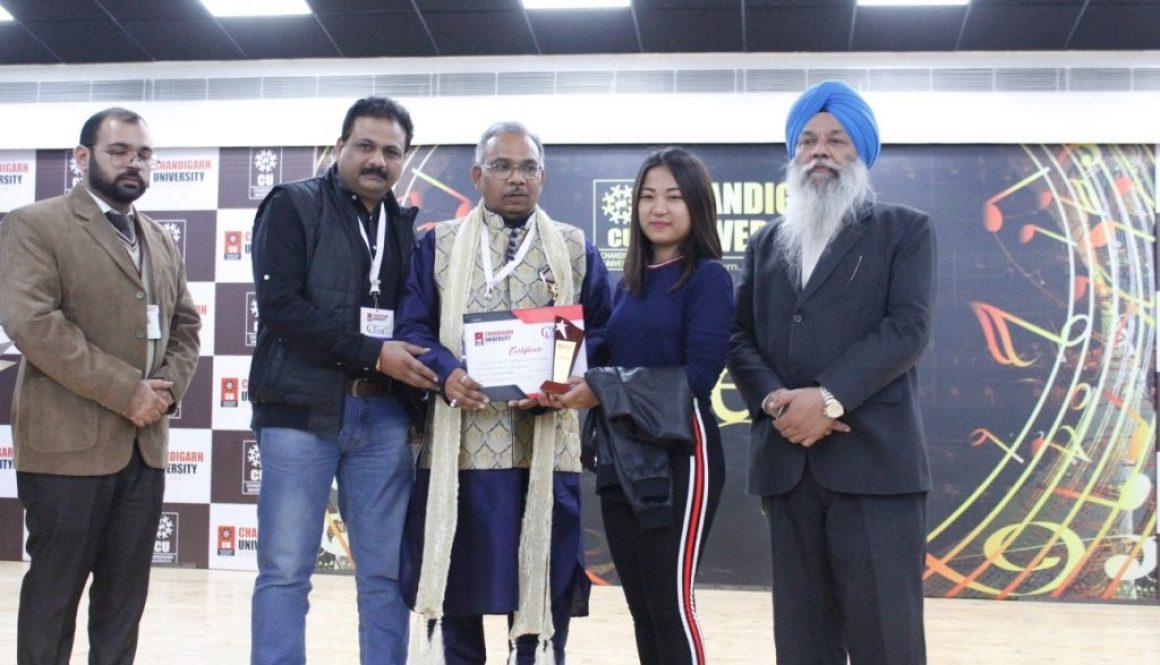 Manav Rachna at CU FEST '18 In Chandigarh