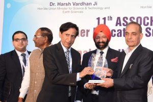 Manav Rachna bestowed with the National Education Excellence Award 2018 by ASSOCHAM