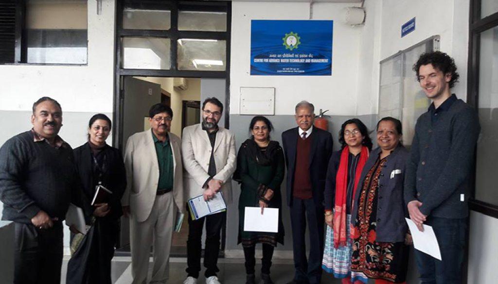 Norwegian Institute of Water Research visited Manav Rachna University