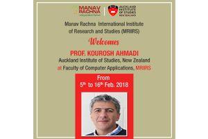 Prof. Kourosh Ahmadi from AIS at MRIIRS