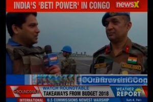 Saurabh Setia's instrumental role at the UN Peacekeeping force in Congo