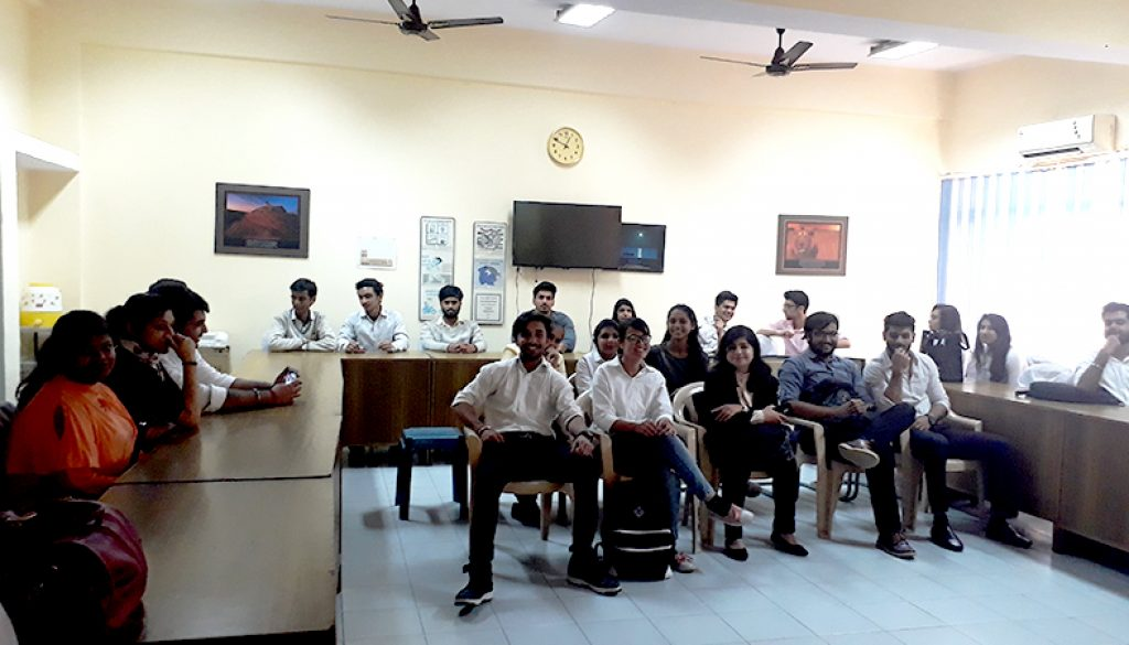 Students Of MRIIRS Visited VITA