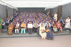 Visit By Govt Schools Students Under Skill Development Program