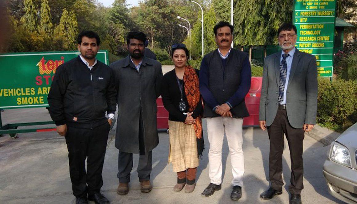 Visit to TERI Gram – Gwal Pahari – Gurugram – Haryana