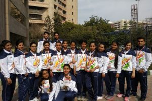 150 student volunteers from Manav Rachna are providing support for the smooth conduct of 'Khelo India School Games'