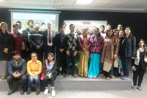 MRU, Department of mathematics celebrated National Maths Day on 22 nd December 2017