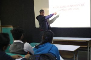 Guest Lecture on 'Creativity and Advertising'