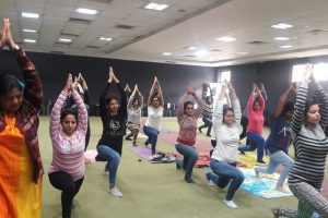 Yoga Session for Faculty & Staff Members