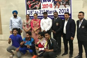 All India Inter University Kick Boxing Championship 2017-18