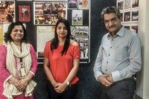 Alumna of FCBS MRIIRS Visited Manav Rachna Campus