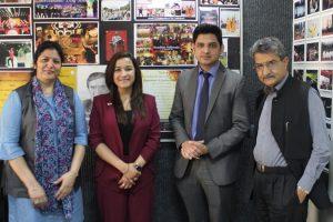 Alumni FMS Visited MRIIRS Campus