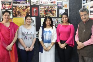 Alumni Of MBA and B.Tech Visited MRIIRS Campus