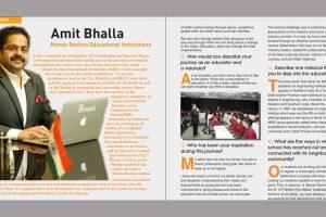 Education Today-50 Education Visionaries -Dr Amit Bhalla