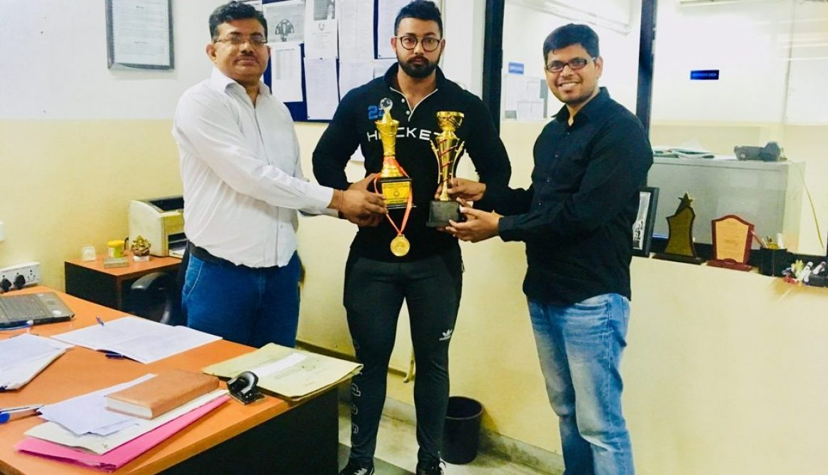 MRIIRS Student Shined at Malviya Sports Tournament