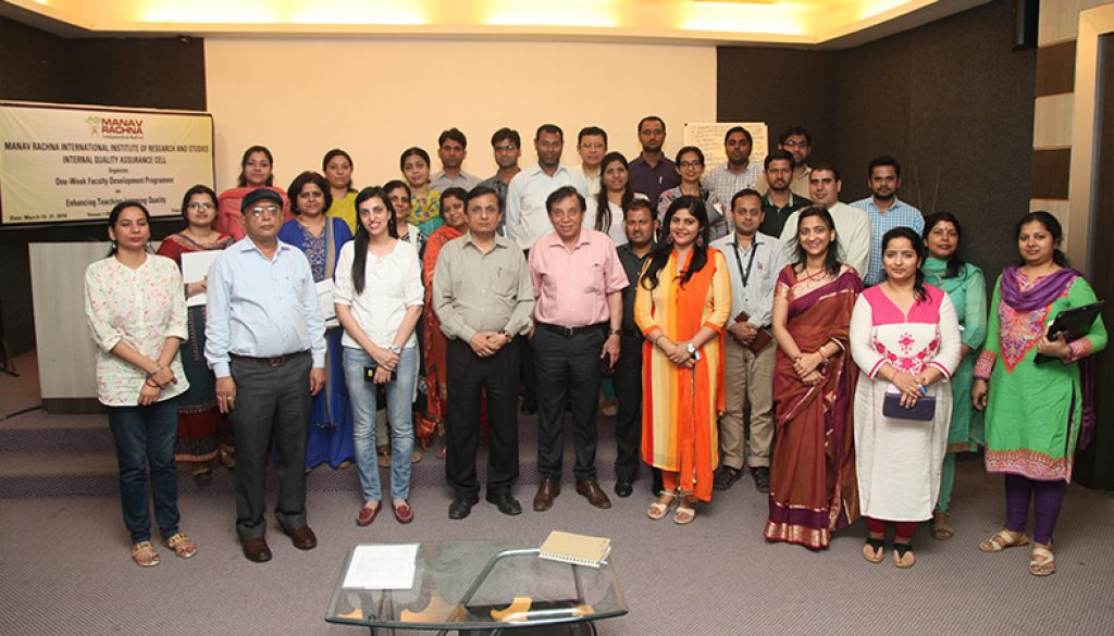Faculty Development Programme on Enhancing Teaching-Learning Quality