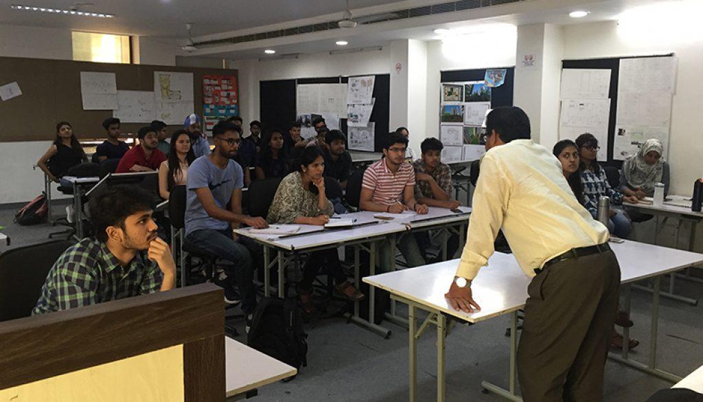 Guest Lecture by Prof Zaved Sarosh Zaidi