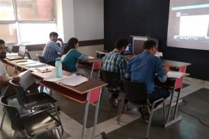ICT program on VLSI Design Conducted by ECE