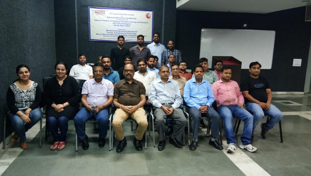 Alumnus of MRIIRS visited Manav Rachna Campus