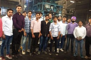 Industrial Visit to AES Engineering Works