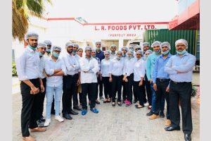 Industrial visit to L R Foods Pvt Ltd
