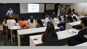 Parent Teacher Meet at FCBS - Manav Rachna Vidyanatariksha