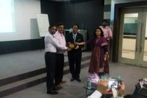 Guest lecture by Mr. Manoj Khattar  at Manav Rachna University