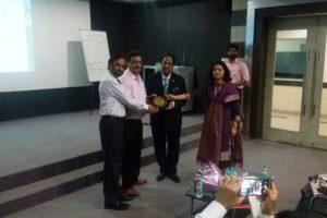 Guest lecture by Mr. Manoj Khattarat Manav Rachna University