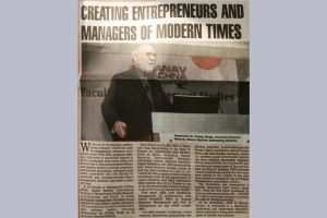 TOI B-Schools Event on Entrepreneurship 23rd feb 18