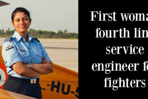 The First Woman Engineer for Fighter Aircrafts is Our Alumna