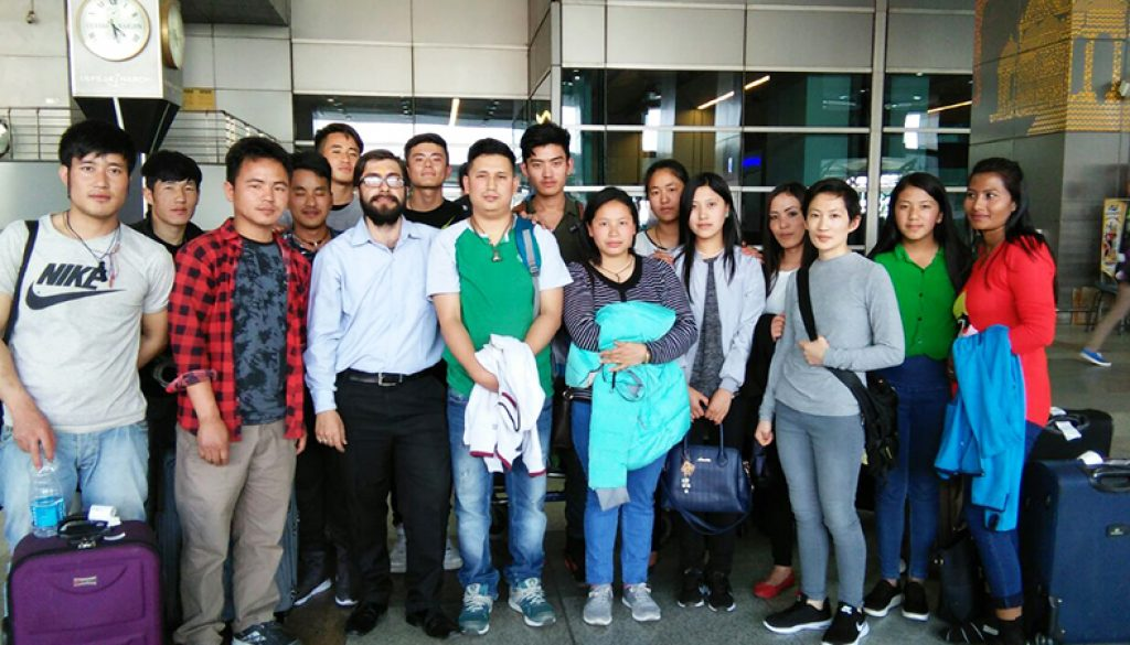 Vocational Training Course for 2nd Batch of Bhutanese Students