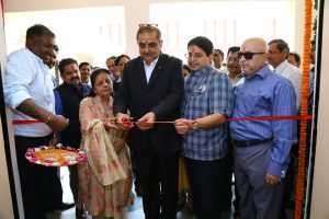 State-of-the-Art Chemistry lab 'C N R Rao Research & Experimentation Centre' was also inaugurated by Smt. Satya Bhalla today at the MRU campus