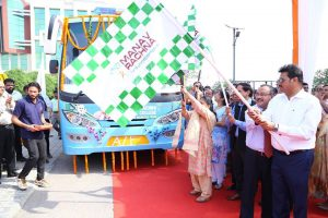 A Mobile Dental Van (MDV) of MRDC equipped with all the modern facilities flagged off today