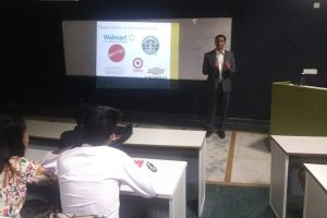 A session on Entrepreneurship and Internationalization of Companies