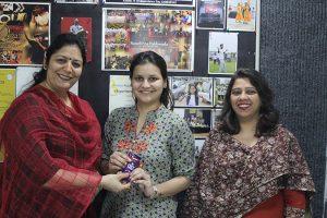 Alumna of FAS MRIIRS visited Manav Rachna Campus