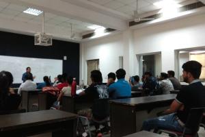 Alumni Lecture at Manav Rachna University