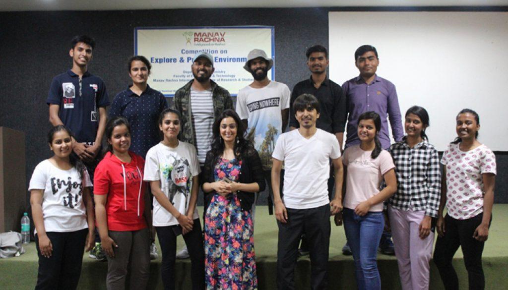 Celebrity Mentor at Manav Rachna Campus