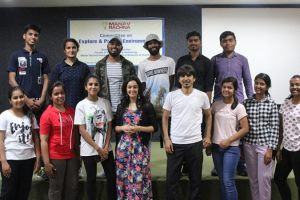 Celebrity Mentor at Manav Rachna Campus
