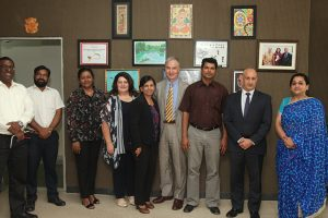 Faculty from Western Sydney University visited Manav Rachna Campus
