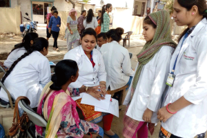Health Camp at Ankhir Village