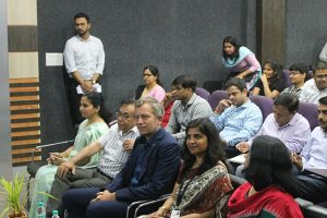ITA Group as Vice President in Germany visited Manav Rachna University 2