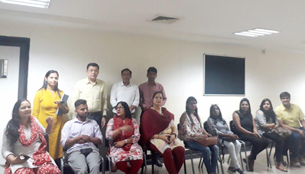 MRIIRS Conducted an Antakshari for Alumni 2