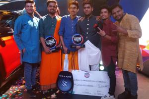 MRIIRS Student: Manjeet Tanwar- First runner-up at Maruti Suzuki- COLORS OF YOUTH