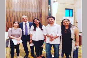 Students attended lecture by Dr. Mauricio Araujo Periodontist